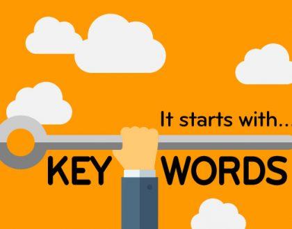 επιλογή keyword Seo - Abouttheweb